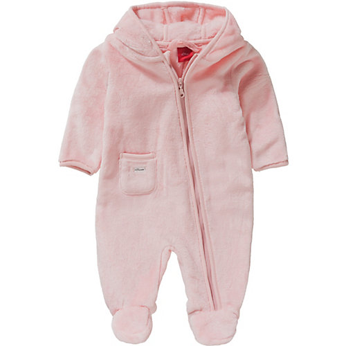S.Oliver,s.Oliver Baby Plüschoverall Gr. 50/56 Mädchen Baby   04055268822846