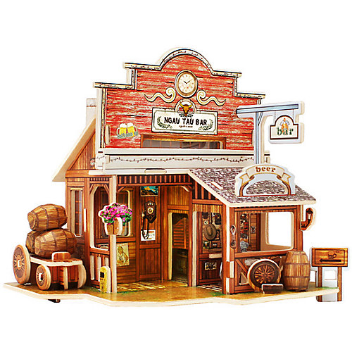 """Сборная модель Rolife """"Американский бар"""" от Rolife"""