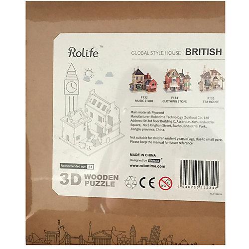 """Сборная модель Rolife """"Британский бар"""" от Rolife"""