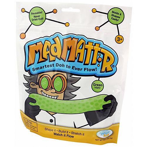 Масса для лепки Mad Mattr, зеленая от Mad Mattr