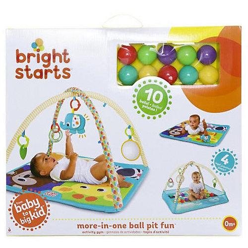 """Развивающий коврик Bright Starts """"Слонёнок"""", с шариками от Bright Starts"""