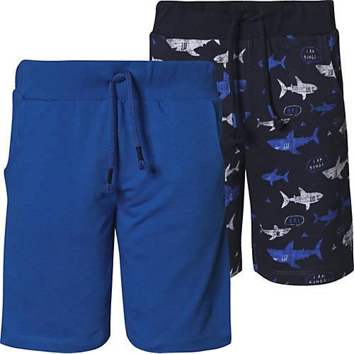 myToys-COLLECTION Sweatshorts Doppelpack von ZAB kids Gr. 104/110 Jungen Kleinkinder | 04333853029116