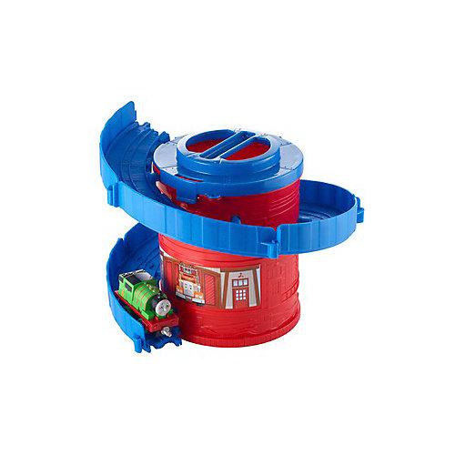 """Игровой набор Thomas and friends """"Башня-спираль с тарссой"""" Башенные дорожки с Перси от Mattel"""