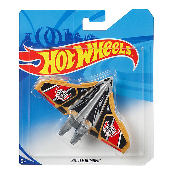 Самолётик Hot Wheels Battle Bomber