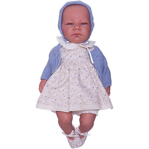 """Кукла-пупс Asi """"Химена"""" с синим пледом, 46 см от Asi"""