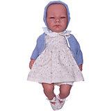Кукла-пупс Asi Химена с синим пледом 46 см, арт 464160