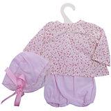Одежда для кукол Asi Рубашка шорты и чепчик 40 см, арт 110