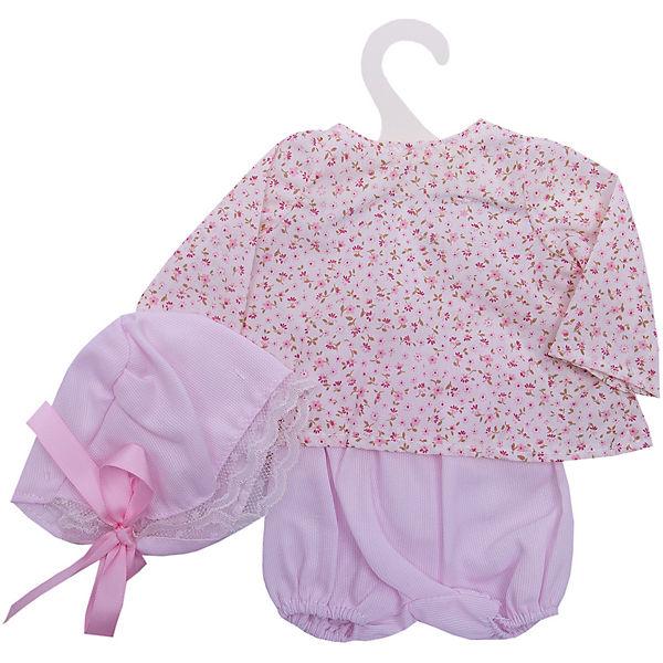 Одежда для кукол Asi Рубашка, шорты и чепчик, 40 см