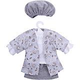 Одежда для кукол Asi Рубашка, юбка и шапочка, 40 см