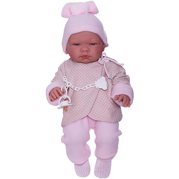 "Кукла-пупс Asi ""Мария"" в бежево-розовом, 43 см"
