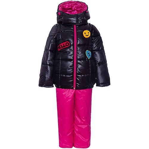 Комплект BOOM by Orby: куртка и полукомбинезон - черный от BOOM by Orby