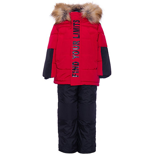 Комплект BOOM by Orby: куртка и полукомбинезон - красный от BOOM by Orby