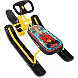 "Снегокат Nika-Kids ""Тимка спорт 2"" F1, жёлтый"