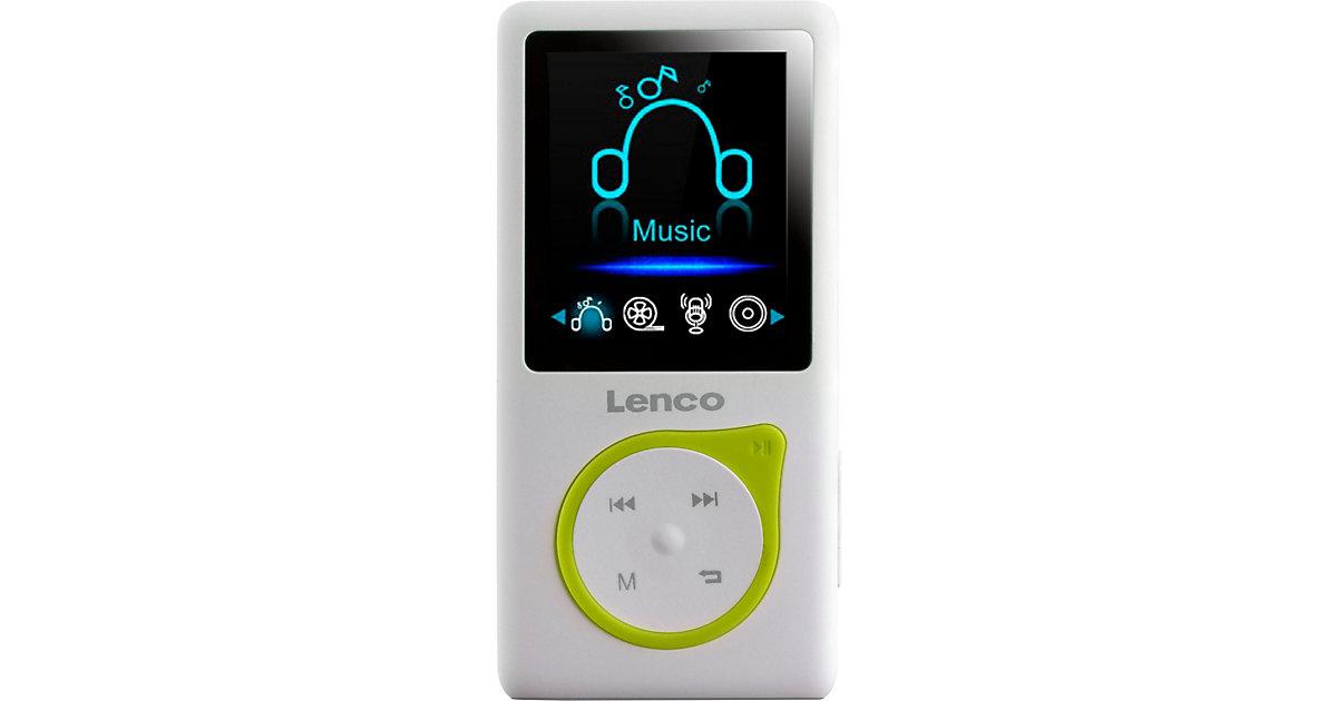 Xemio-668 Lime - MP3-/MP4-Player mit 8GB Speicher, Farbdisplay und integriertem Akku gelb