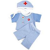 Одежда для кукол Карапуз Костюм доктора, 40-42 см