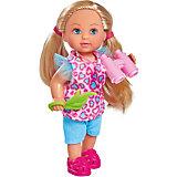 """Игровой набор с мини-куклой Simba """"Evi Love"""" Еви и сафари, 12 см"""
