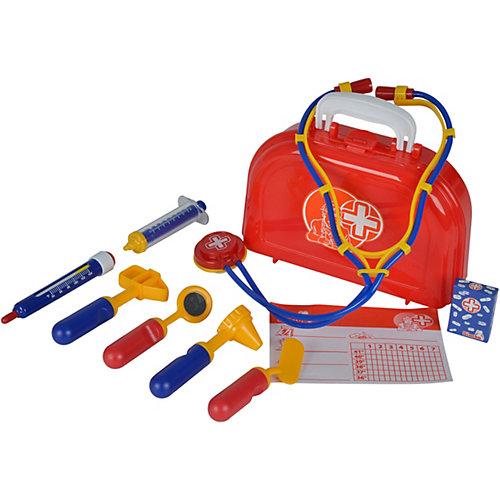 """Игровой набор Simba """"Доктор"""" в чемоданчике, 10 предметов от Simba"""