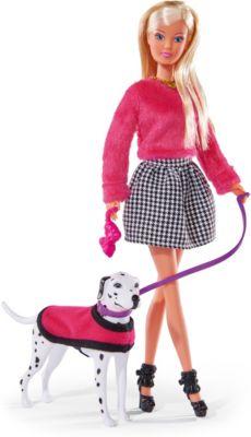 """Кукла Simba """"Steffi Love"""" Штеффи на прогулке с далматинцем, 29 см"""
