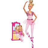 "Игровой набор с куклами Simba ""Steffi Love"" Школа балета, Штеффи и  Еви"