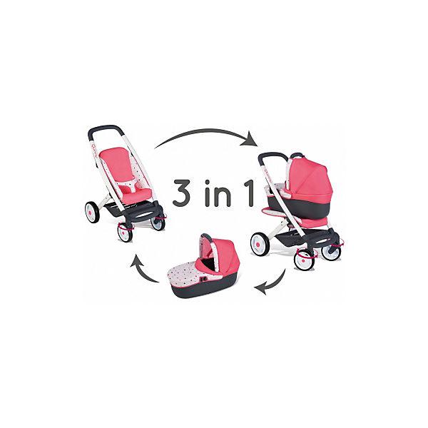 """Коляска-трансформер для куклы Smoby """"MC&Quinny"""", 3 в 1"""
