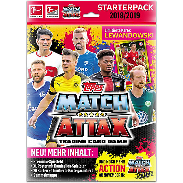 Match Attax Starterpack Xl 2018 2019 Topps