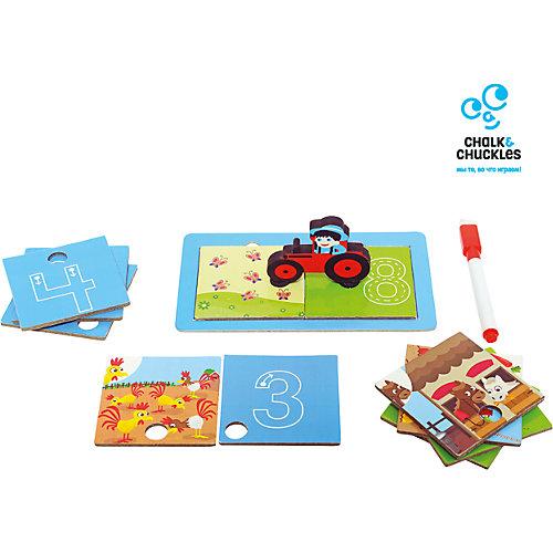 """Настольная игра для детей Chalk&Chuckles """"Числа и счет"""" от Chalk&Chuckles"""