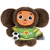 Мягкая игрушка Мульти-Пульти Чебурашка-футболист, озвученная, 17 см