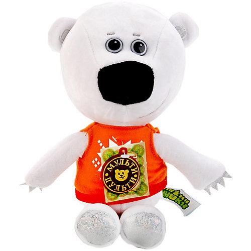 Мягкая игрушка Мульти-Пульти Ми-ми-мишки Медвежонок Тучка, озвученная, 25 см, в пакете от Мульти-Пульти