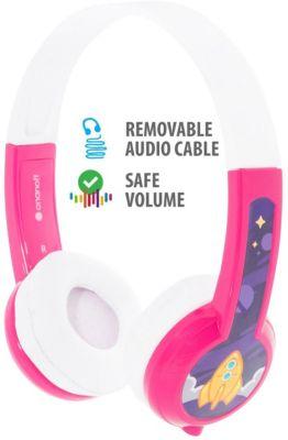 Наушники Buddyphones Explore Pink, розовые
