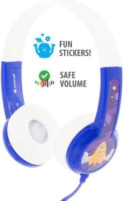 Наушники Buddyphones Standart Blue, синие