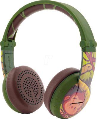 Наушники Buddyphones Wave Green, зеленые