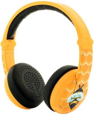 Наушники Buddyphones Wave Yellow, желтые