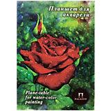 """Папка-планшет для пастели Лилия Холдинг """"Алая роза"""", А4, 20 листов"""