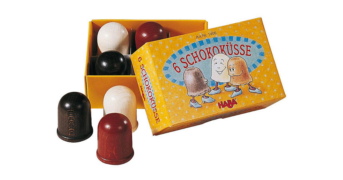 HABA 1406 Schokoküsse im Karton, 6 Stk. Spiellebensmittel