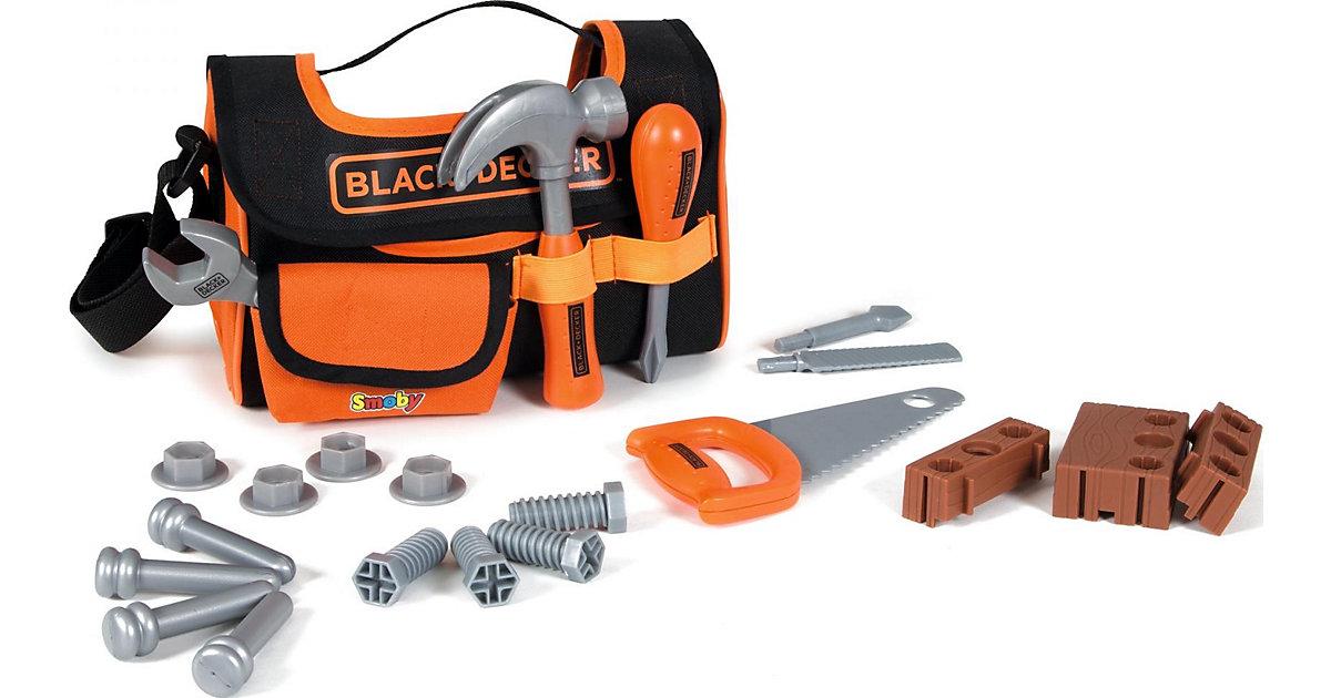 Black+Decker Werkzeugtasche weiß/beige