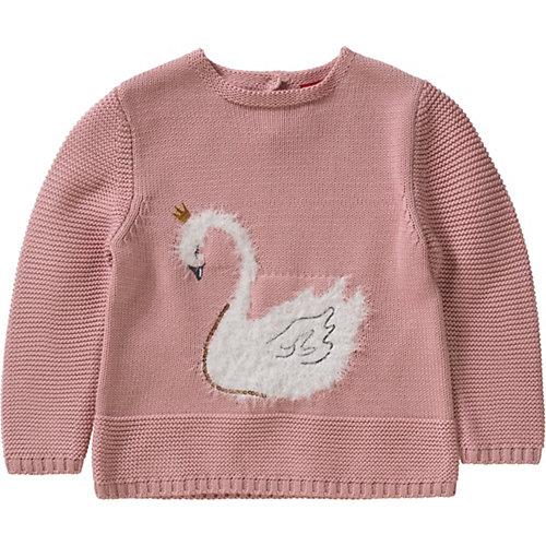 s.Oliver Baby Strickpullover mit Pailletten Gr. 80 Mädchen Kinder | 04055268822129