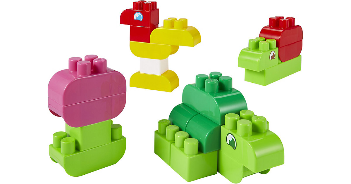 Abrick Box mit 50 Tierbausteinen