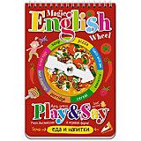 """Иностранный язык """"Волшебное колесо"""" English. Еда и напитки (Food and drinks)"""