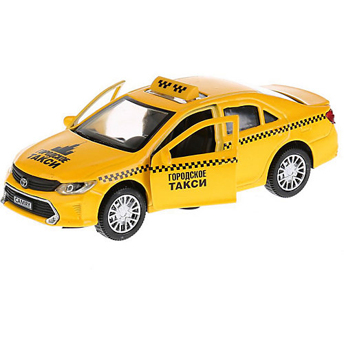 "Машинка Технопарк ""Toyota Camry"" Такси, 12 см от ТЕХНОПАРК"