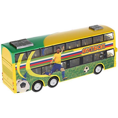 """Автобус Технопарк """"Футбол"""", 16 см от ТЕХНОПАРК"""