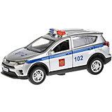 "Машинка Технопарк ""Toyota Rav4"" Полиция, 12 см"