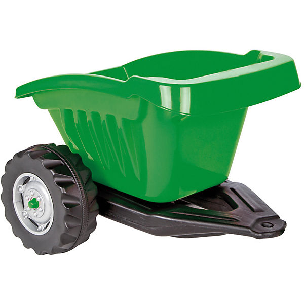 Anhänger Ride-on Ride-on Anhänger für Strong Bull Traktor, grün, Jamara cf3ae8