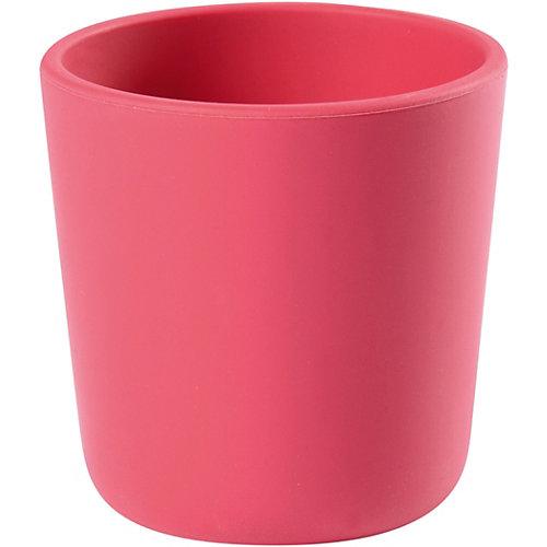 Стакан Beaba Silicone Glass, розовый от BÉABA