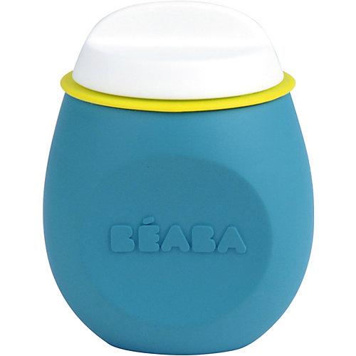 Контейнер из силикона Beaba Squeez'portion, голубой - голубой от BÉABA