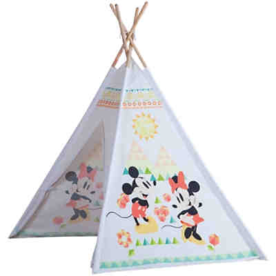 Mickey & Minnie Holz Tipi Zelt