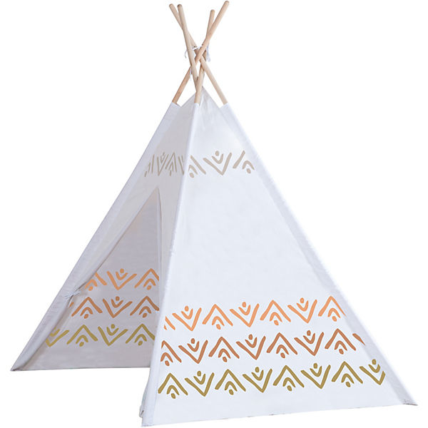 Holz Tipi nature cosy mit Tragetasche