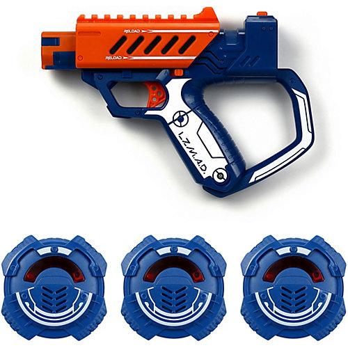 """Игровой набор Silverlit """"Тренировочный бластер с мишенью"""", оранжевый от Silverlit"""