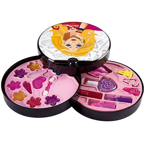 Детская декоративная косметика Bondibon Eva Moda Косметичка-диск, 3-х уровневая от Bondibon