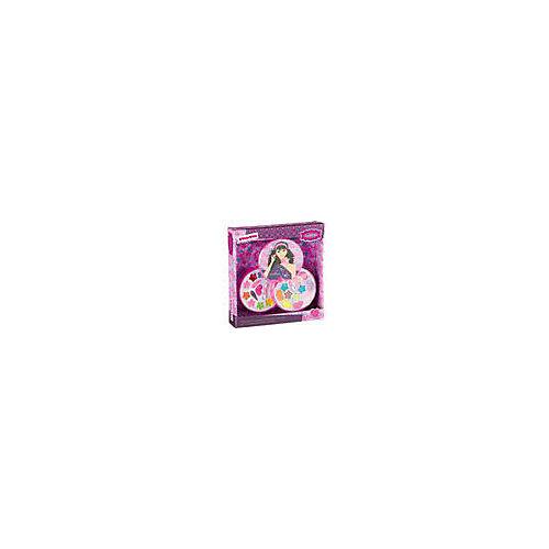 Детская декоративная косметика Bondibon Eva Moda Косметичка-диск, 2-х уровневая от Bondibon