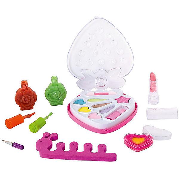 Детская декоративная косметика Bondibon Eva Moda с 2 лаками для ногтей, 15,6 г., розовая